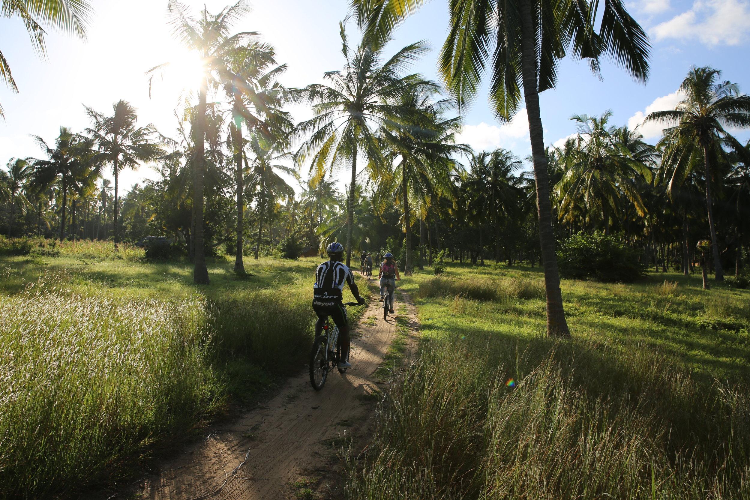 cycling through Kenya