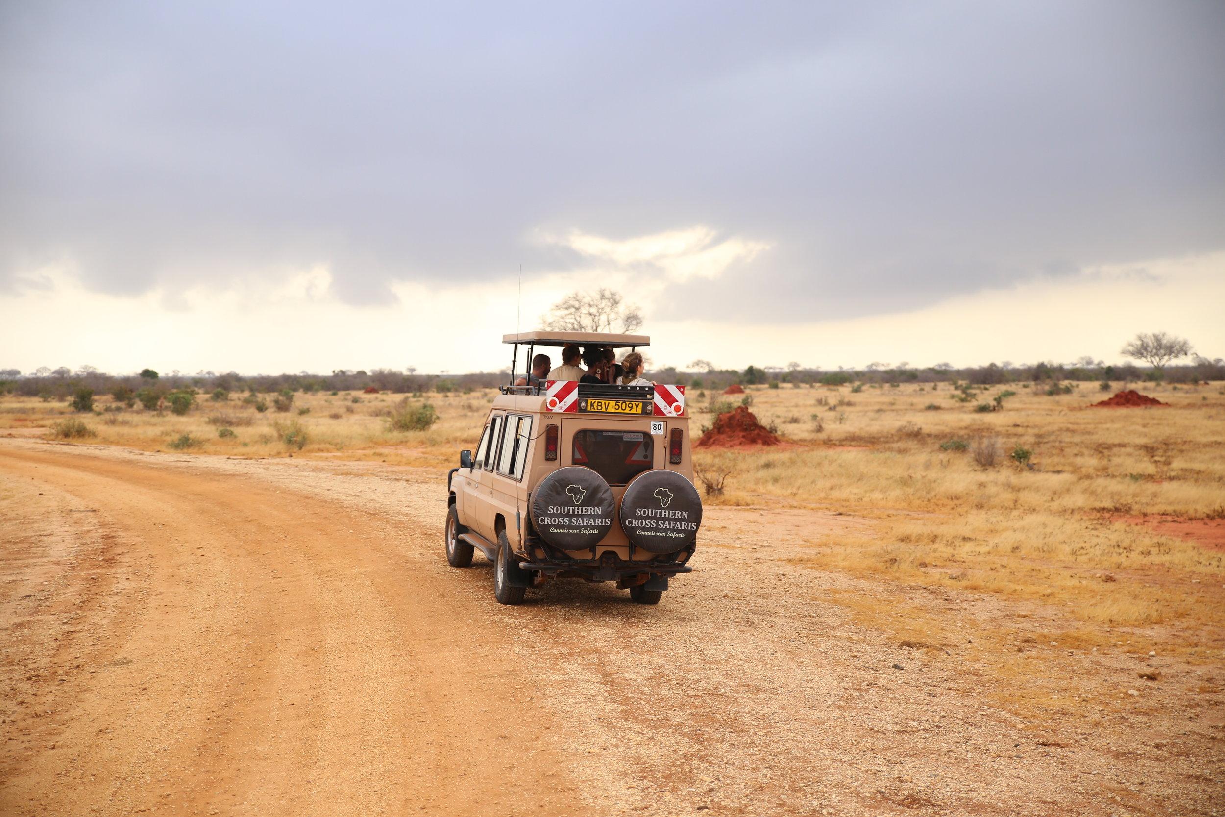stave east national park kenya