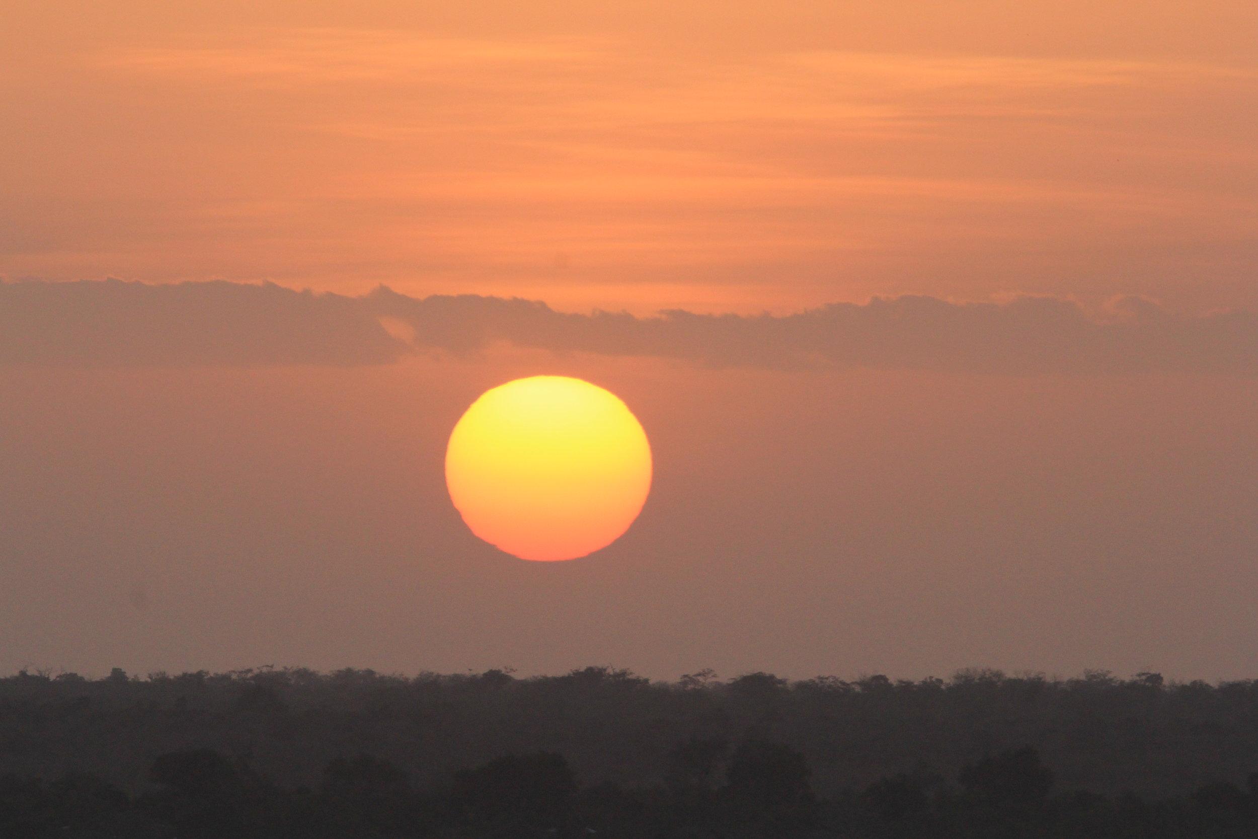 sunsets in kenya