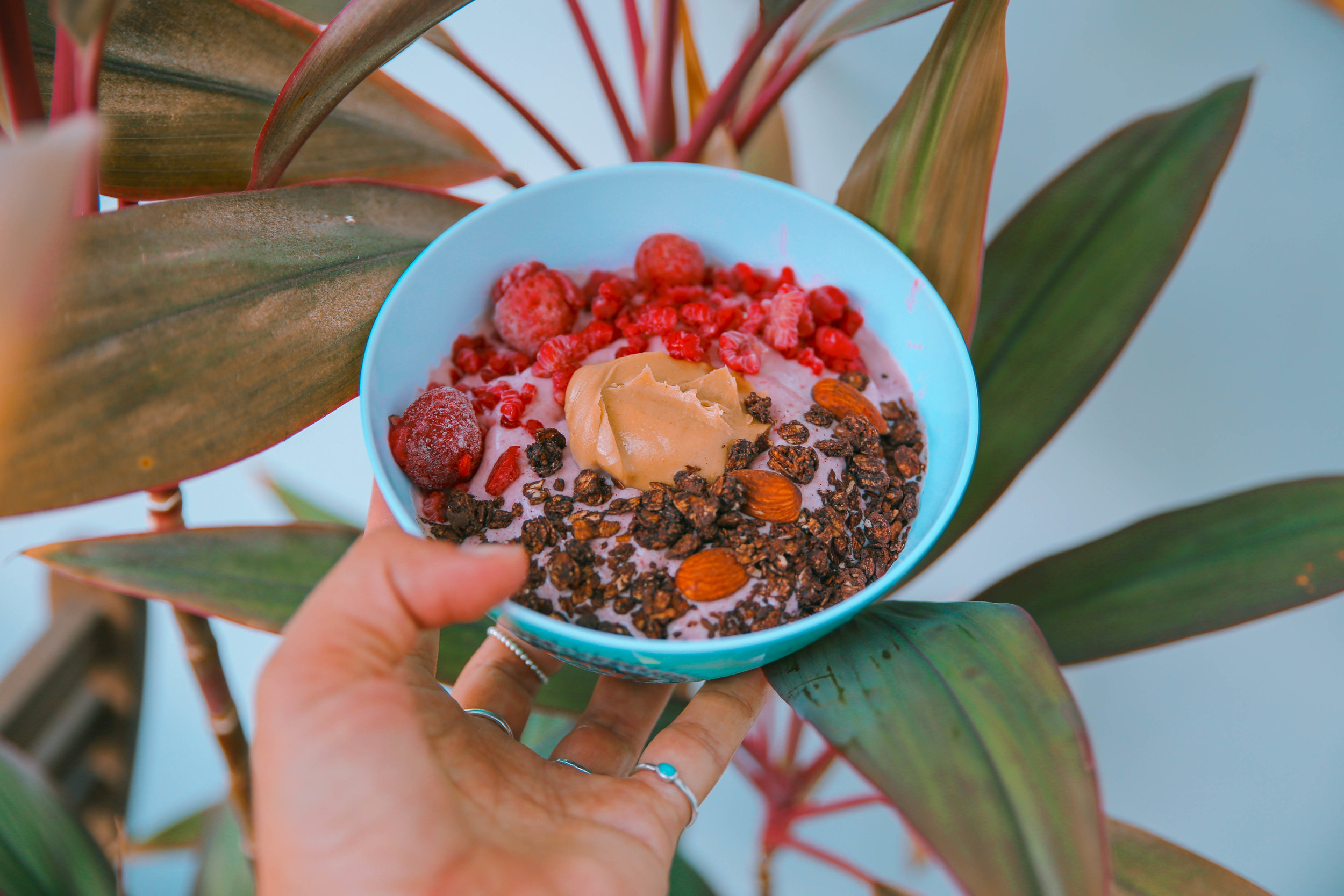 pink smoothie bowl recipe