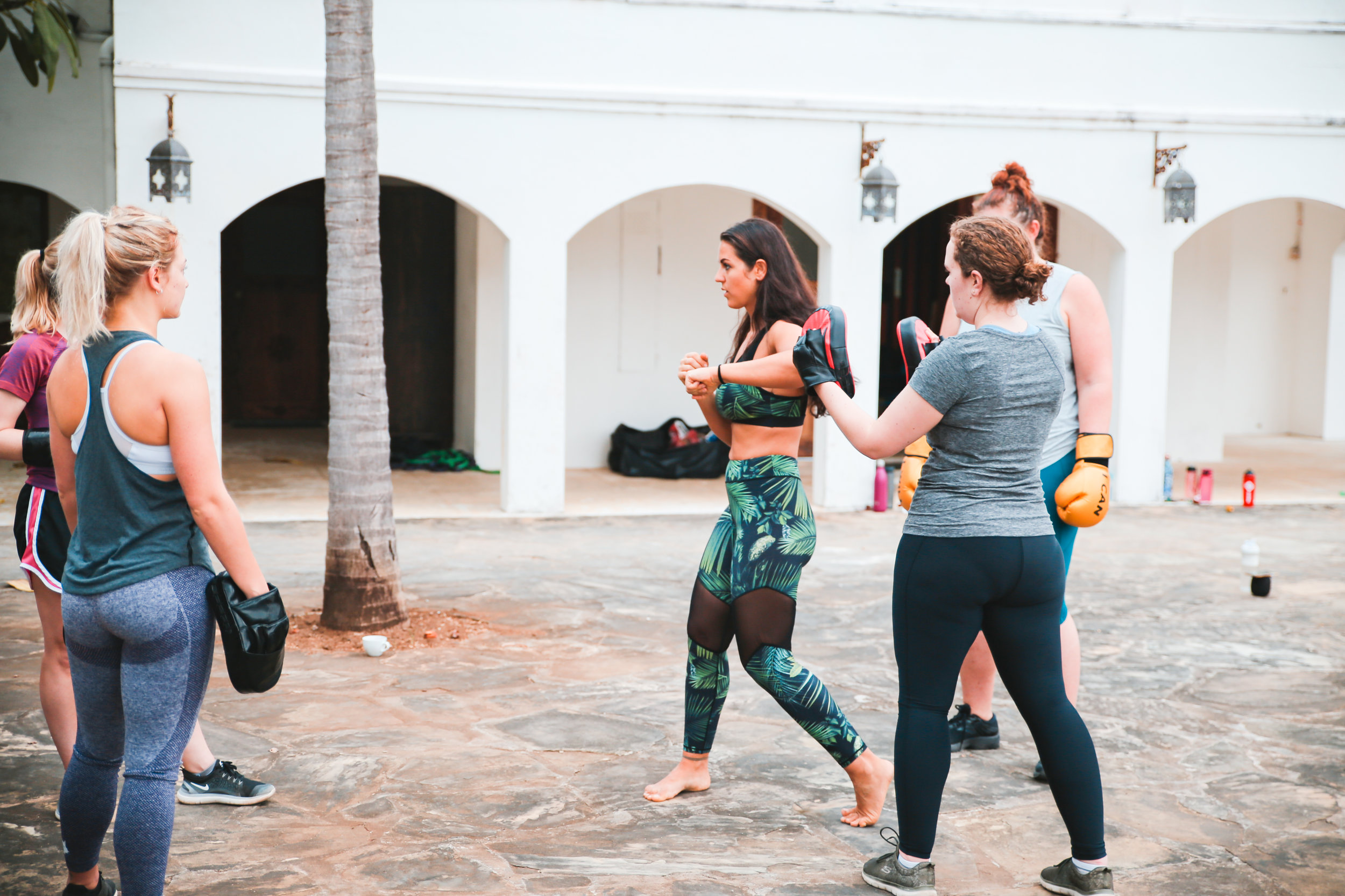 kickboxing retreats