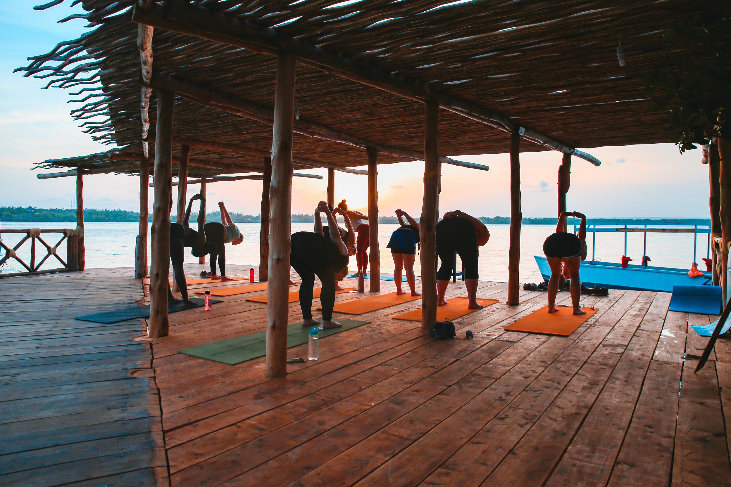 yoga retreats in kenya