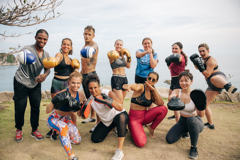 kickboxing retreats in Thailand