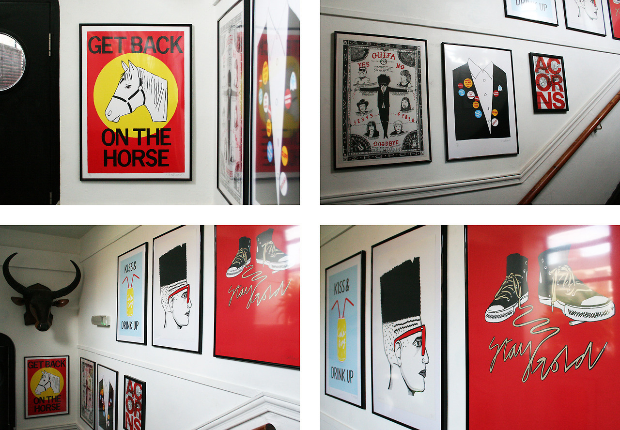 ACORNS: Screen Prints  by Various Artists from  Print Club London