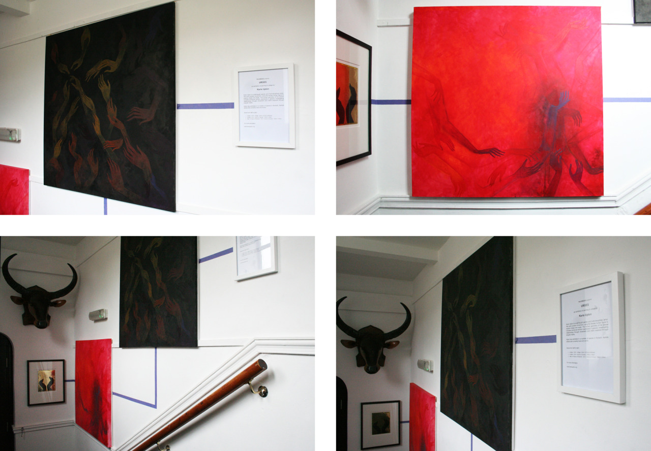 URGES: An Exhibition of Painting & Collage by Karis Upton
