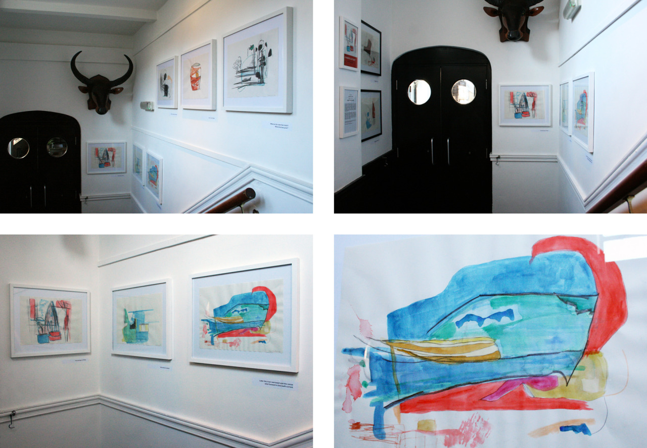 A HANDFUL OF DUST: An Exhibition of Works on Paper by Gawain Thomas Godwin