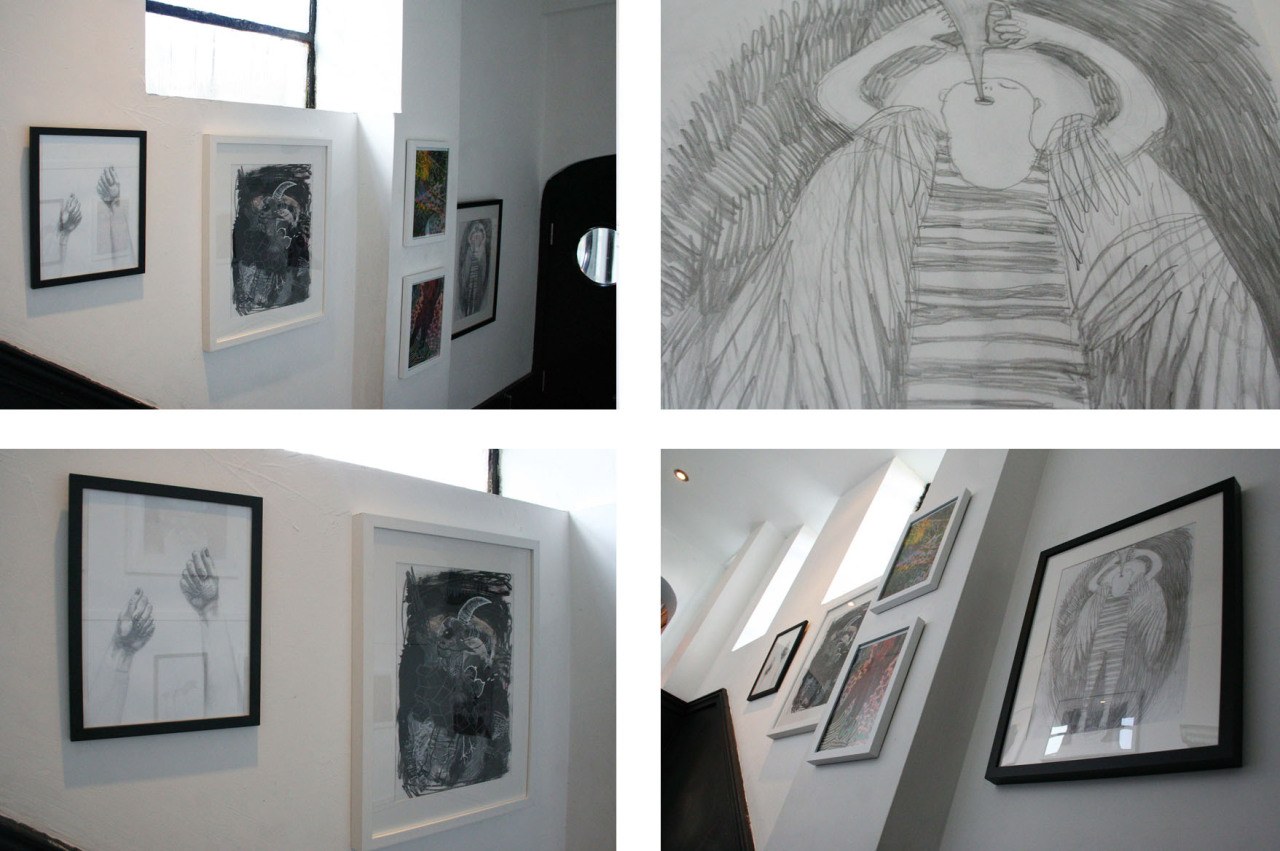 Justina Gervyte's exhibition  BEAUTIFOOLISH  is now up and ready for viewing! All the framed work is for sale…