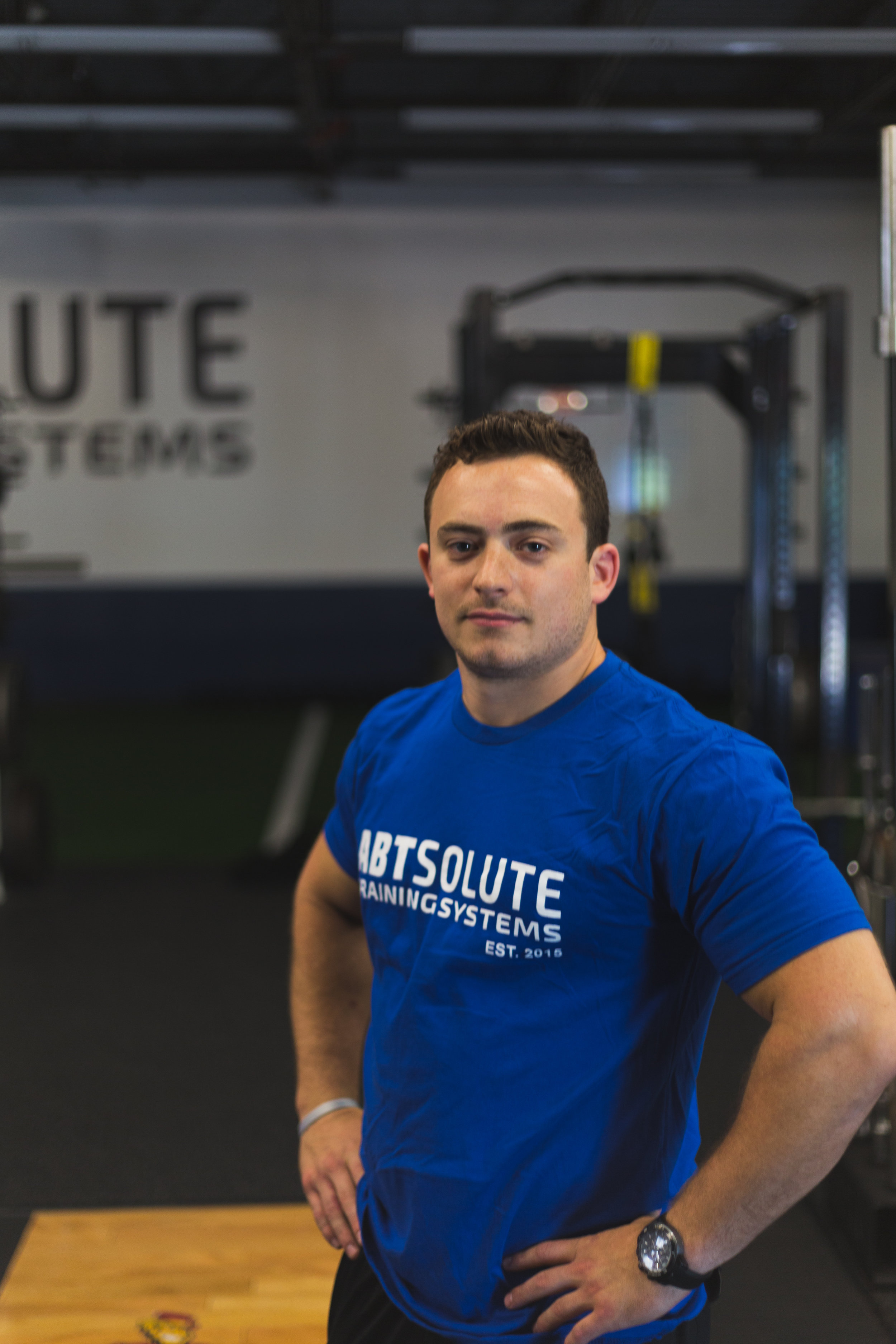 Andrew Abt - Owner/Head TrainerAndrew has been involved in elite sports – as a player and coach – for most of his life.He has coaching experience in both the private sector as well as the Division 1 College level. Prior to opening ABTsolute Training Systems, Andrew was the Assistant Strength & Conditioning Coach at Iona College where he worked with 21 teams and over 400 athletes. His specialties are strength training, speed, agility and injury prevention.Andrew has turned his lifelong passion for sports and fitness into a career — helping people achieve their potential and become the healthiest version of themselves.Certifications:Certified Strength and Conditioning SpecialistUSA Weight Lifting Sports Performance CoachFunctional Movement Screen Certified