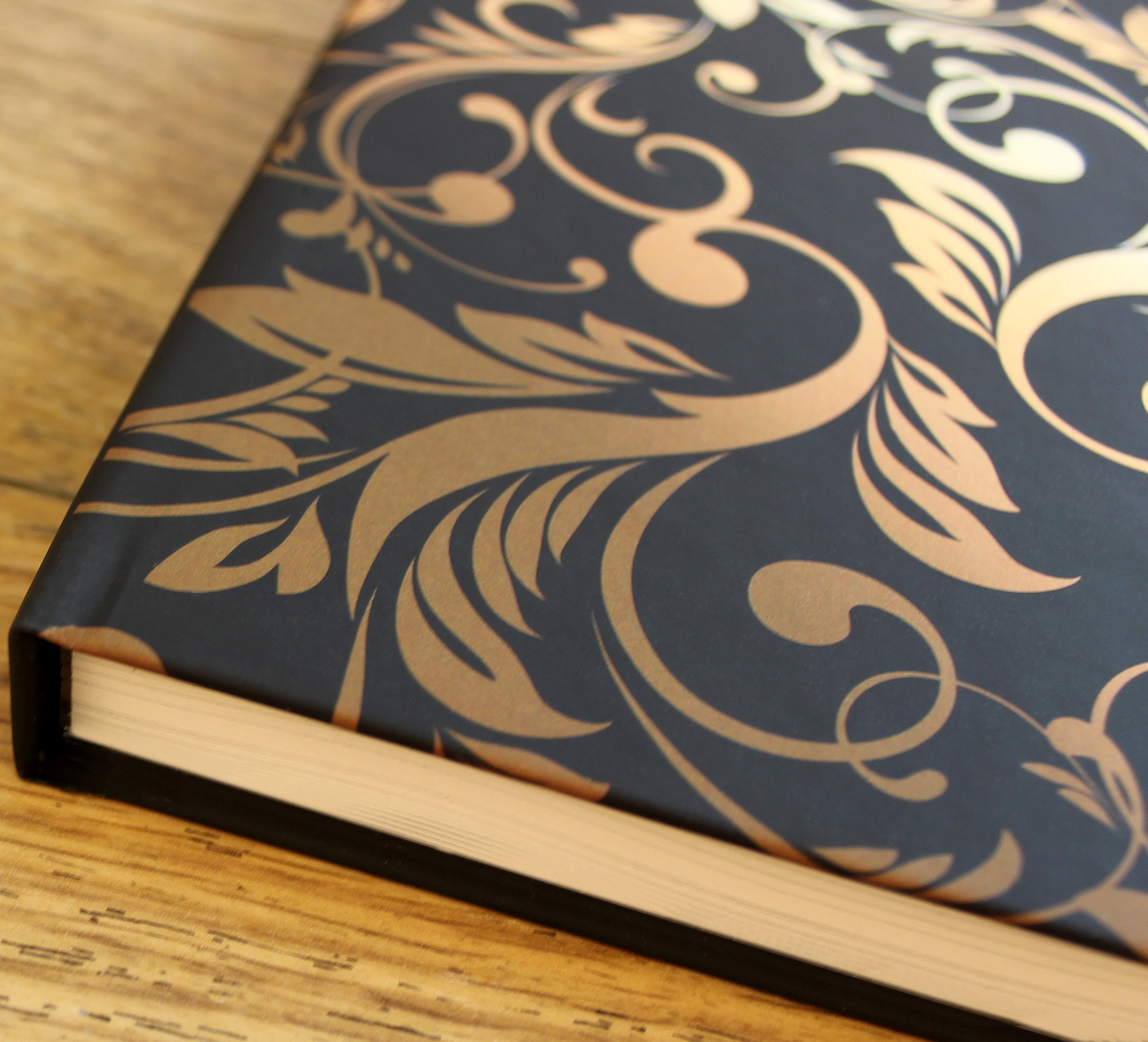 Bespoke case bound poetry book