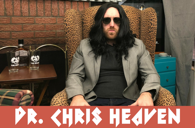 Dr. Chris Heaven - Double Ph.D in Whispering and Rom-Com's. 3-Time World Of Love Champion 96', 07, and 16'.