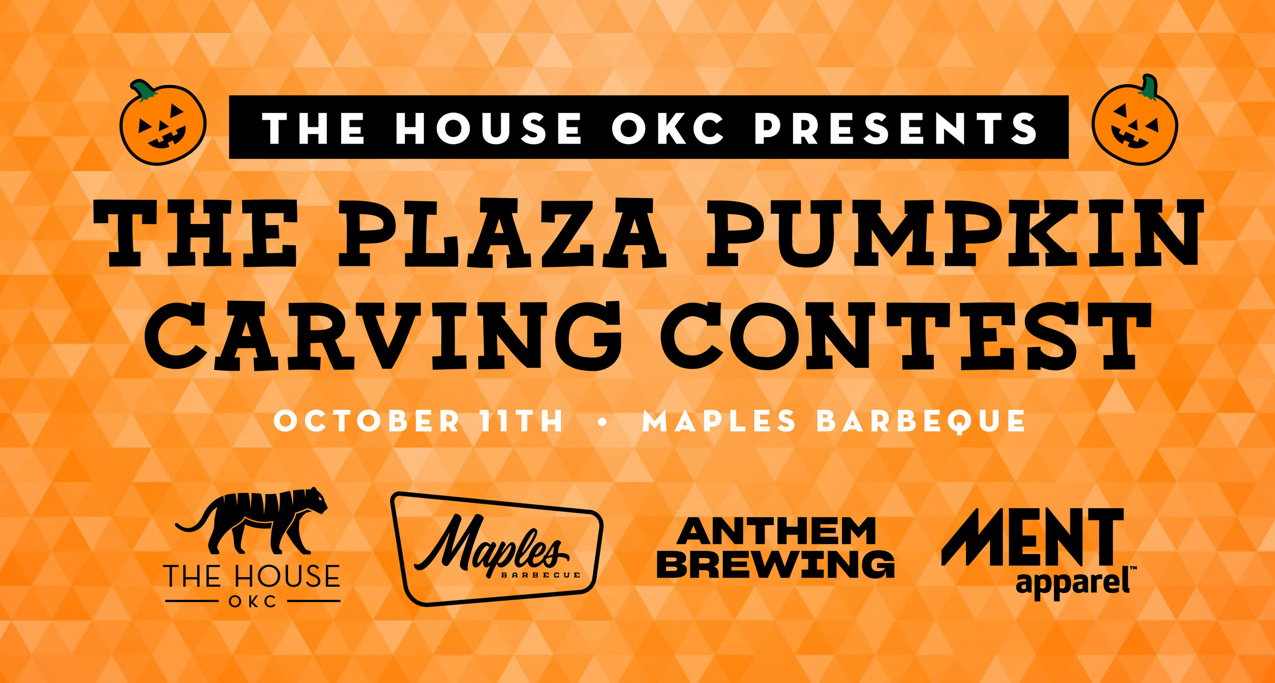 The Plaza Pumpkin Carving Contest 2019 Presented: by The House OKC