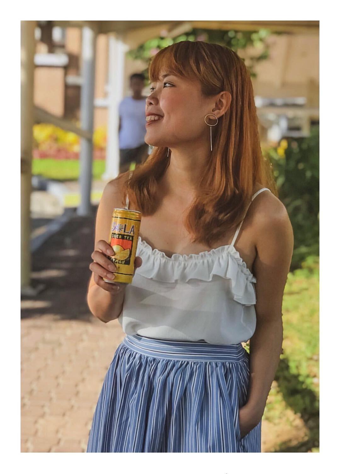 Collaboration with Sola Iced Tea
