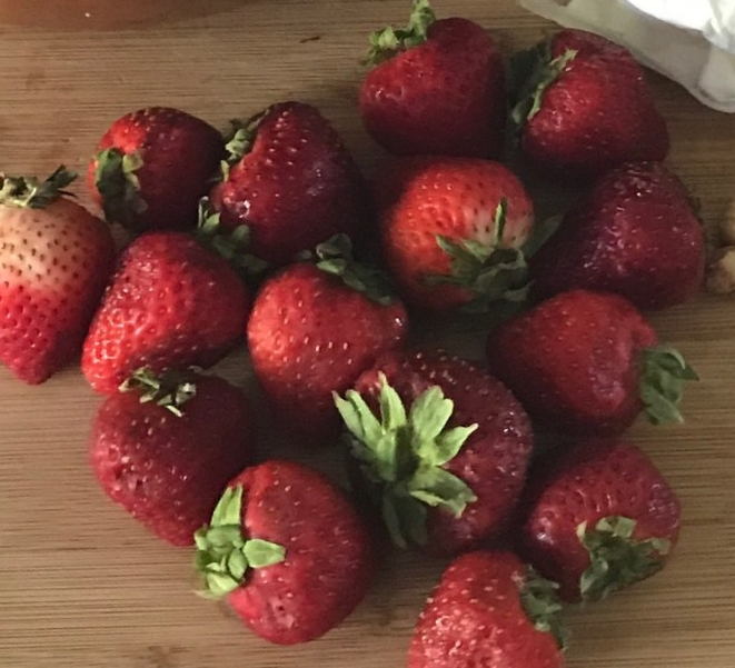 Fresh Strawberries from  @Ruby Berry Farm