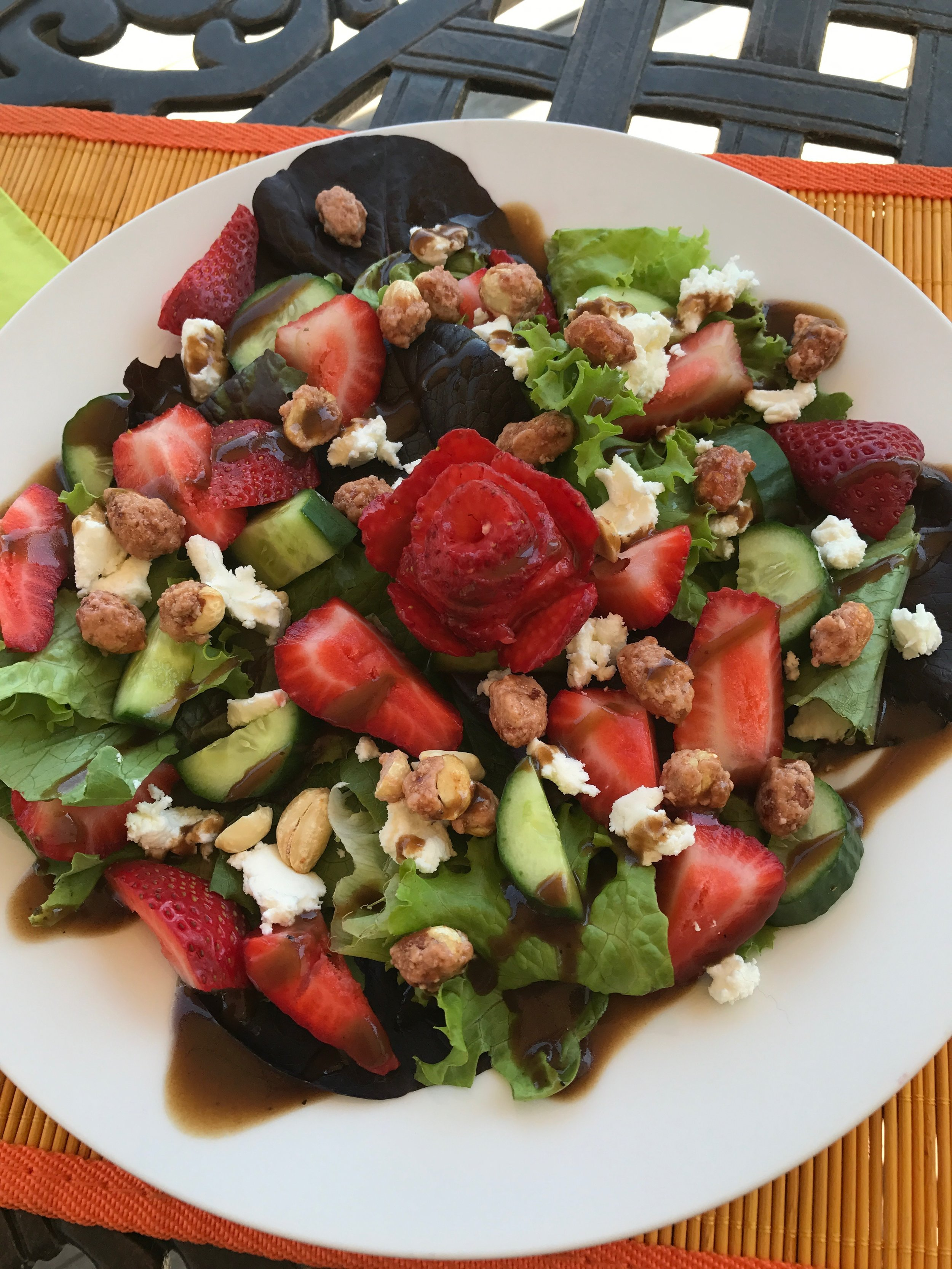 Strawberry Summer Salad