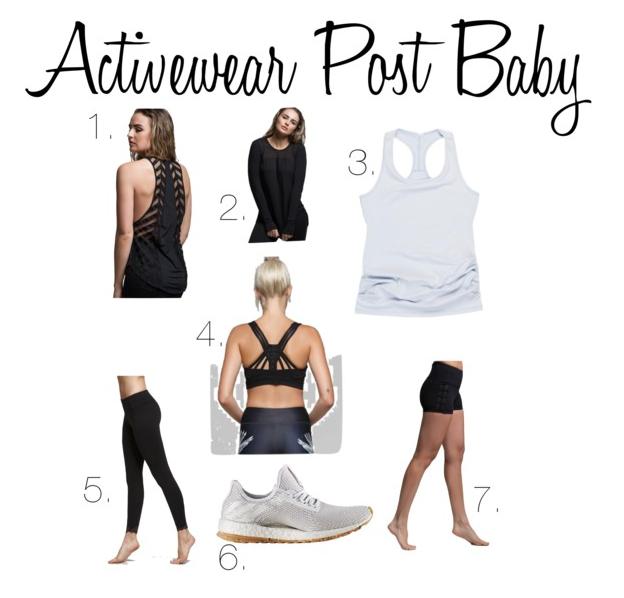 jasmine activewear post baby