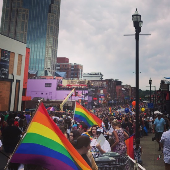 Happy Pride Weekend Nashville!! • • • • • #lgbtq #support #parade #nashville #tennessee #lgbt #community #nashvilletn #happiness #peace #pride #loveislove #lgbtpride
