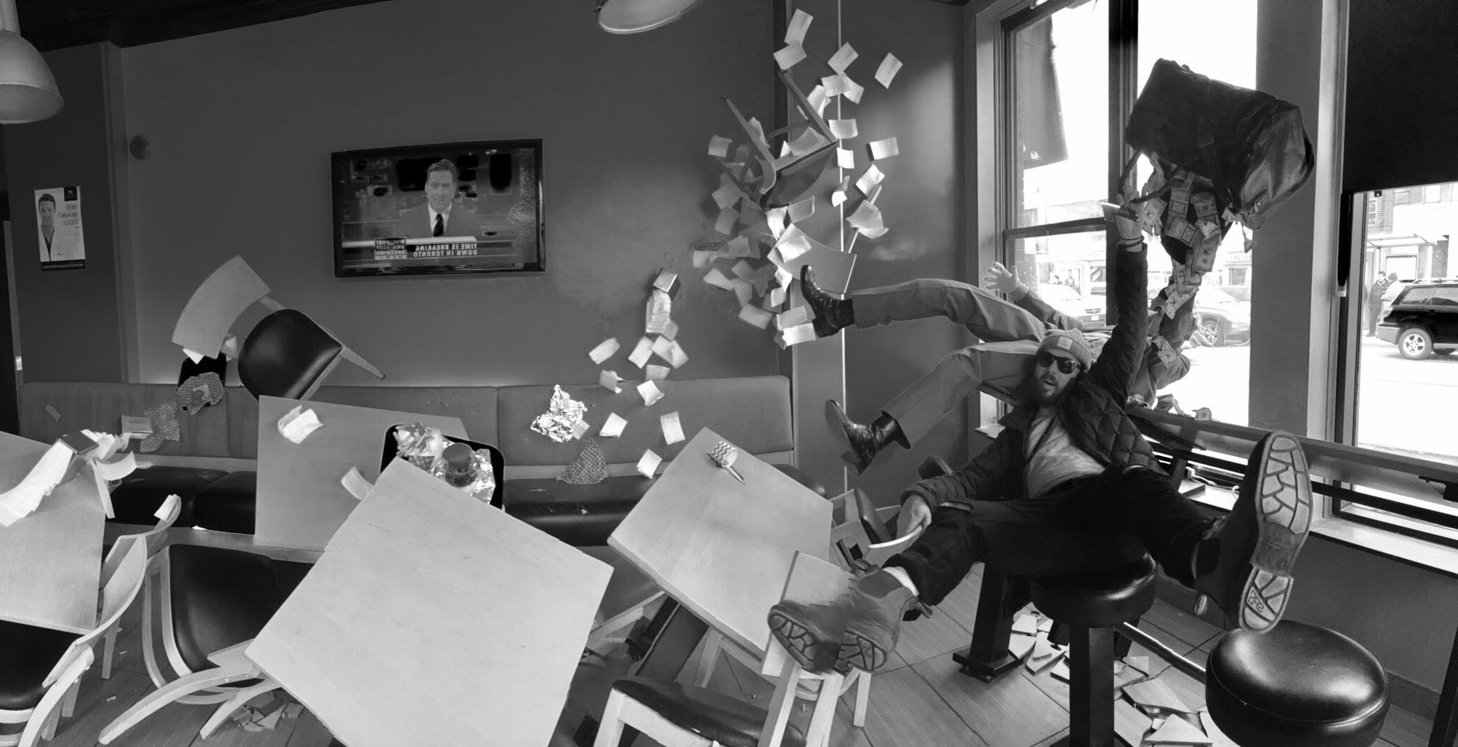 Graham Beasley film maker based in Toronto. -