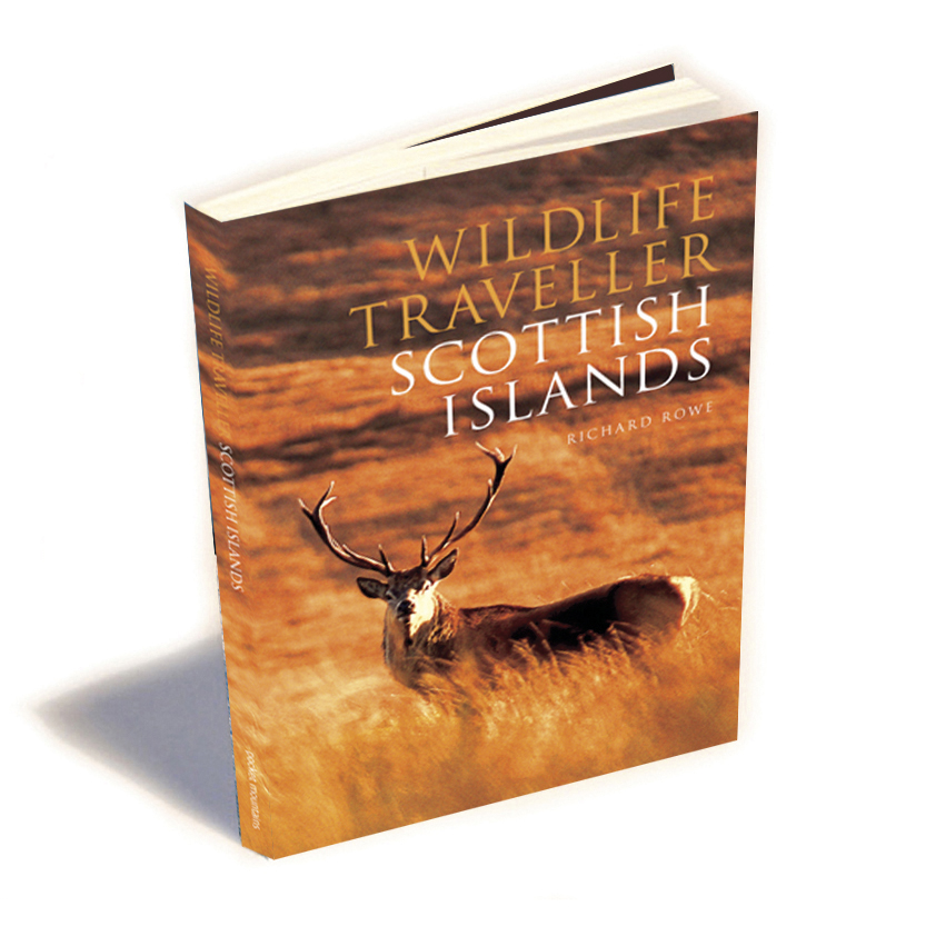Book cover, Wildlife Traveller Scottish Islands jacket.jpg