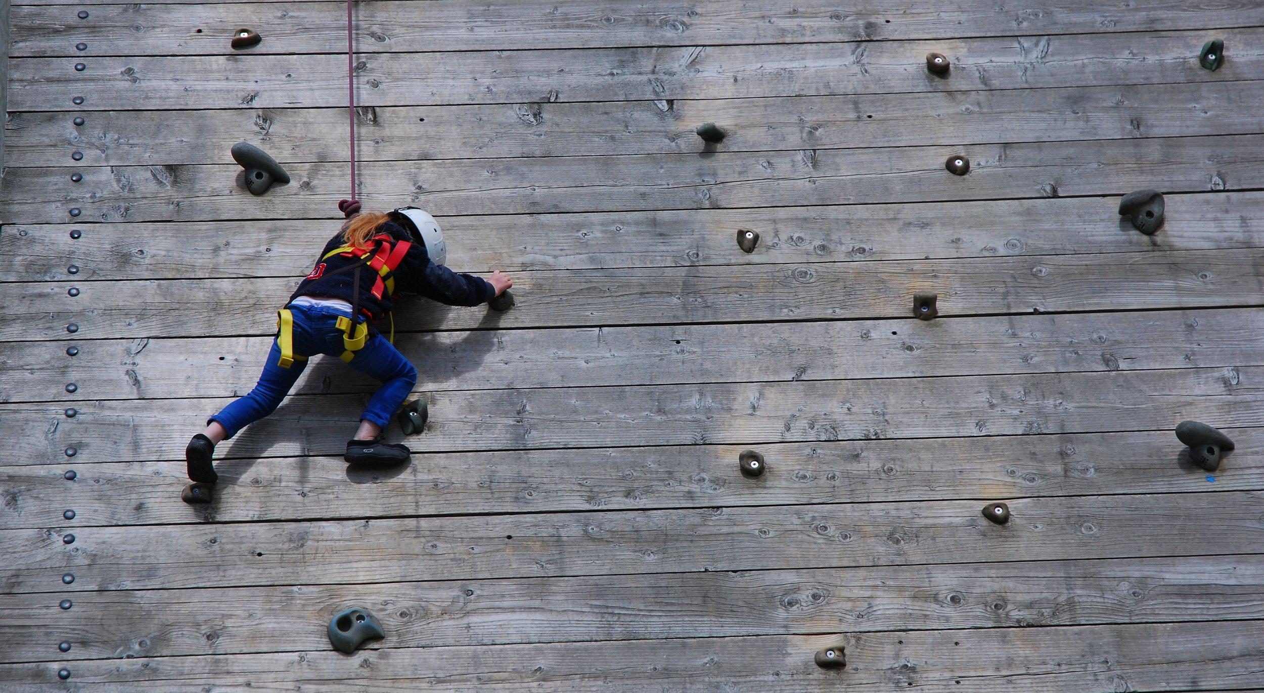 Mini climber, Galloway Sailing Centre