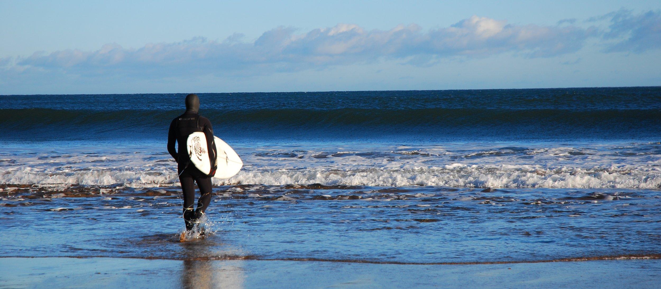 Surfer, Coldingham Bay