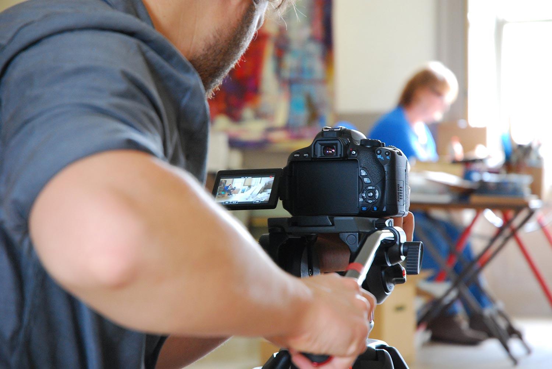 Filming for Visit Tweed Valley