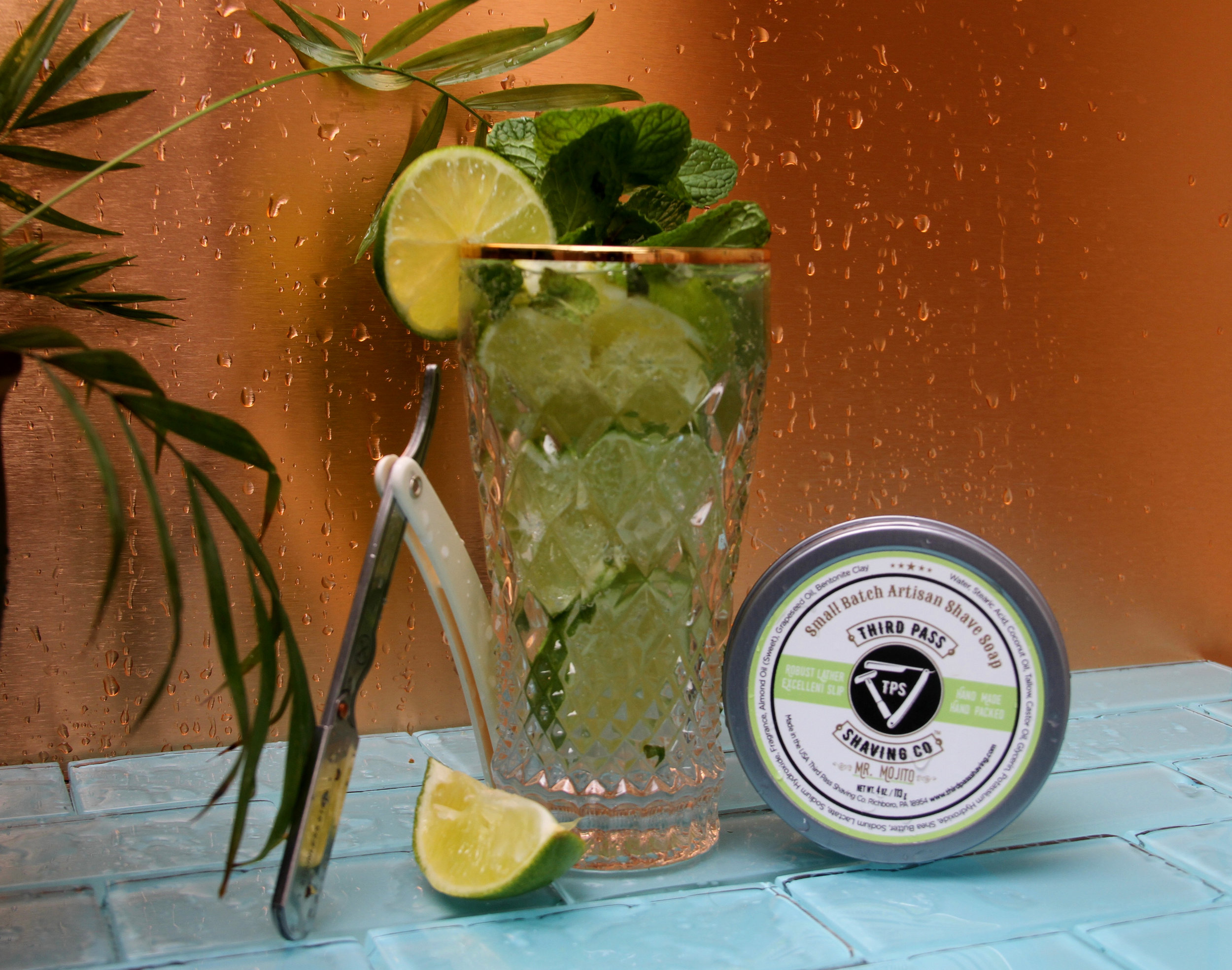 Mr. Mojito Shave Soap ~ Shaving with a twist!