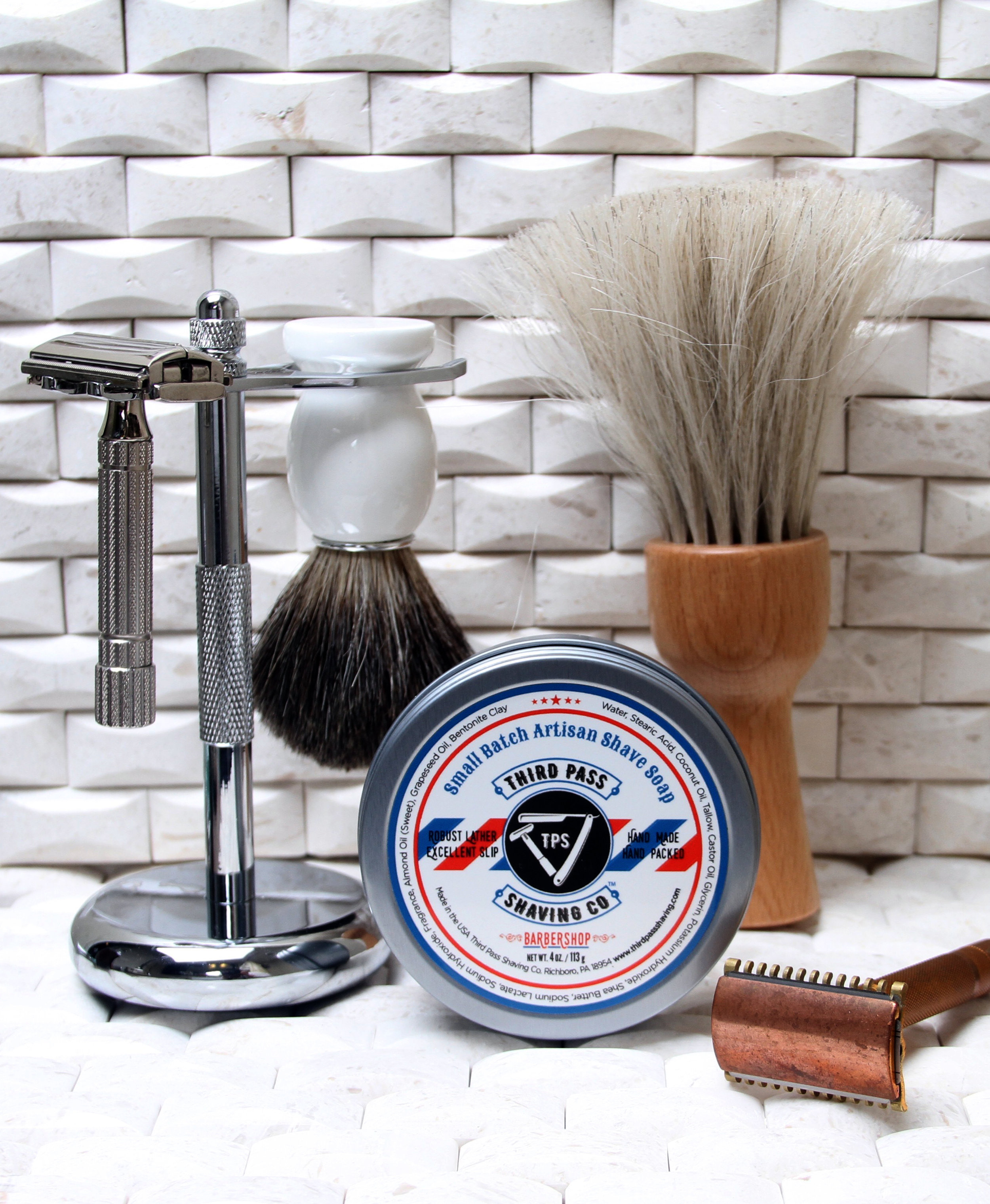 Barbershop Shave Soap ~ New School...meet Old School.