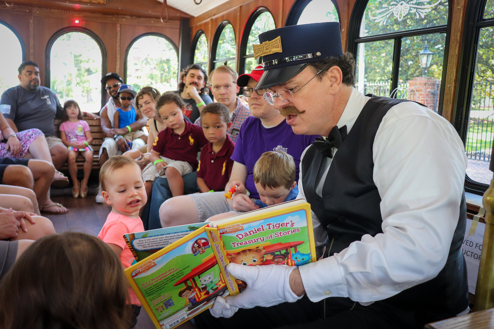 Take a trolley ride with beloved characters from Children's Literature