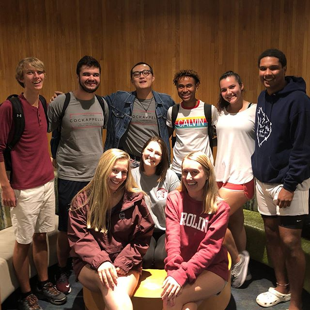 Had a great first rehearsal with all these new members! Can't wait for the rest of the year! #cockappella2019