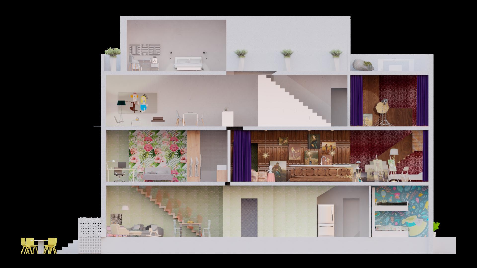 //Multi-Family Micro Housing //2018 //Residential