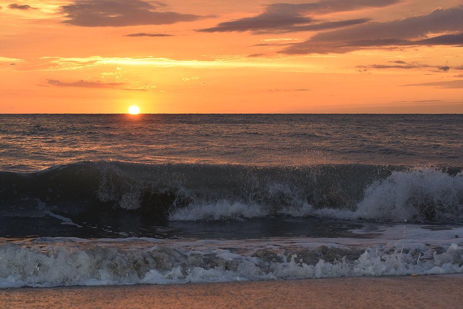 NAPLES, FLORIDA - Sunsets like this...