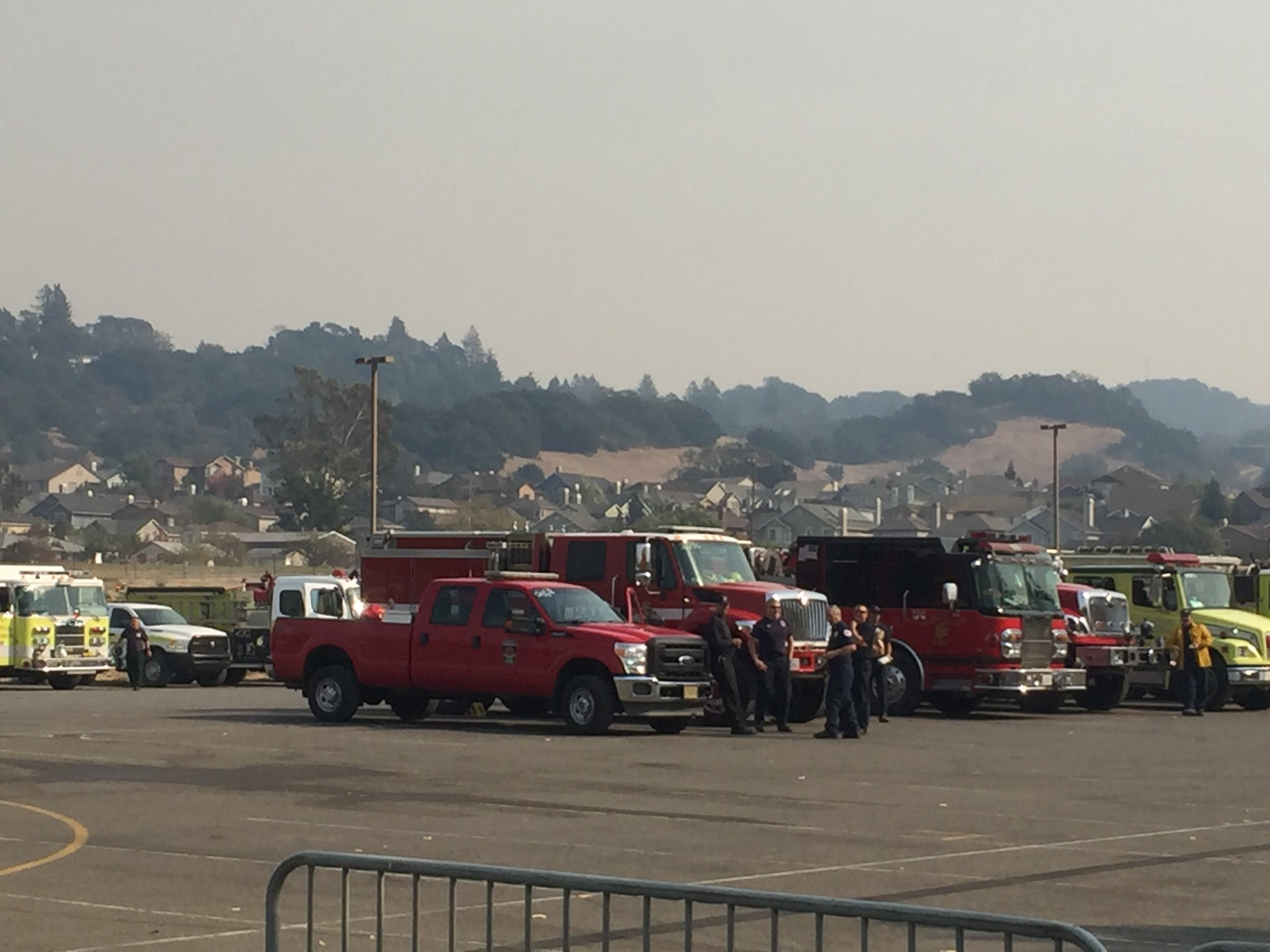 Santa Monica Fairgrounds Response Center Northbay fires 2.jpg