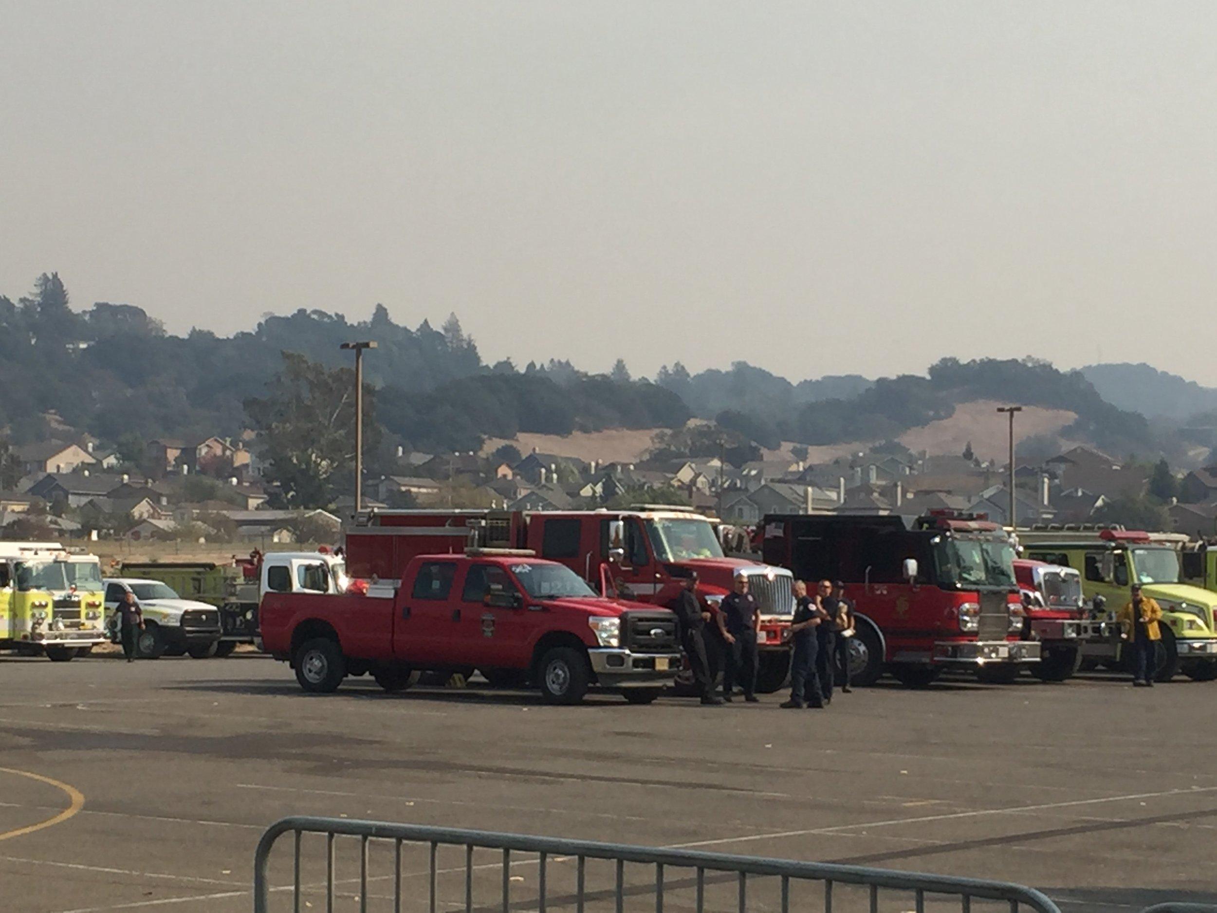 Santa Monica Fairgrounds Response Center Northbay fires 2.jpg