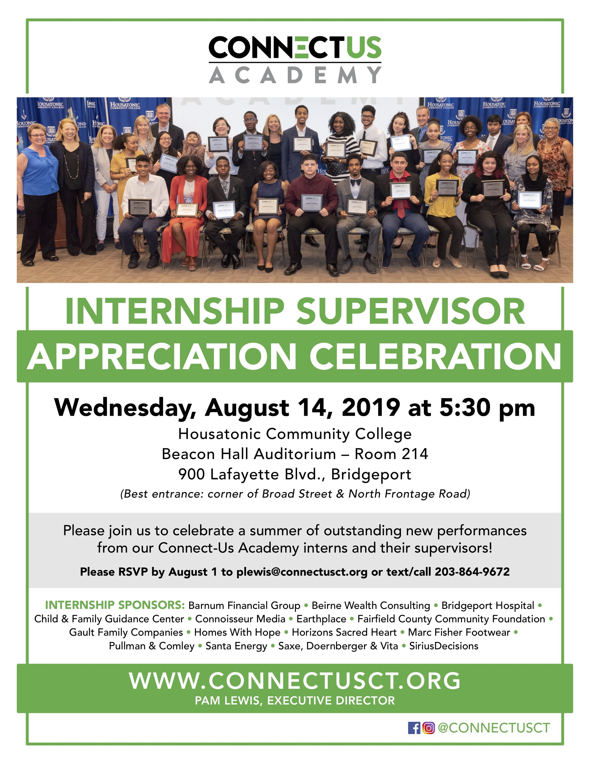 Internship Supervisor Appreciation Celebration - 2019.jpg