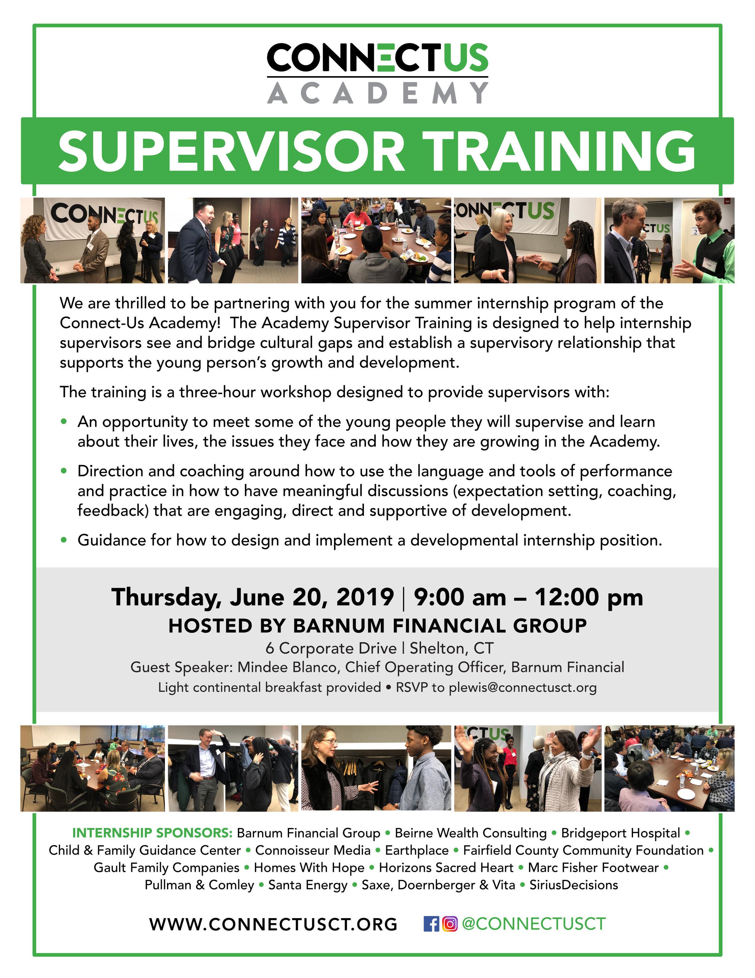 Supervisor Training Invitation - 2019.jpg