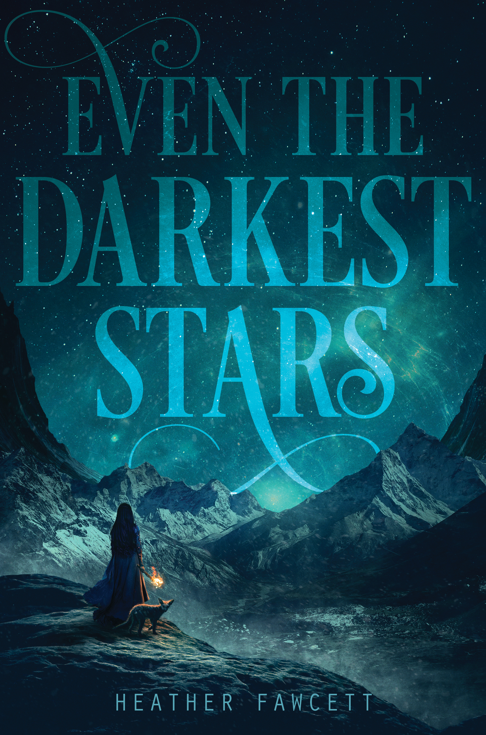 even the darkest stars, heather fawcett, author, book, novel, epic, fantasy, teens