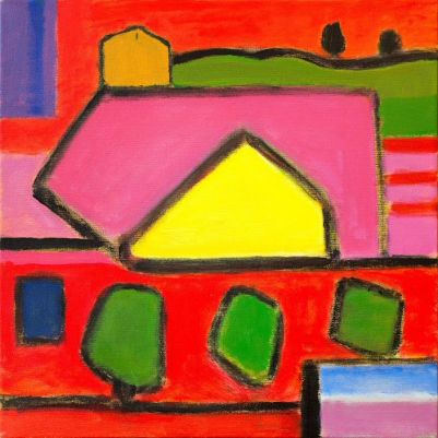 Monh  egan #12 , oil on canvas, 2014