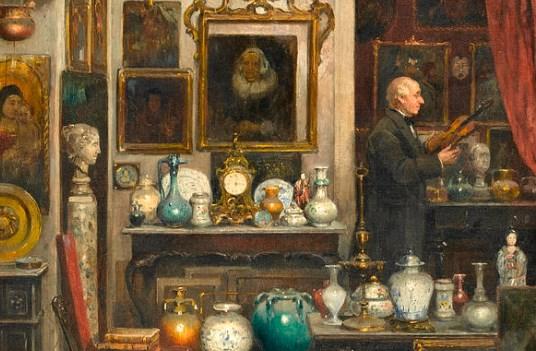 Kollektsionäär Peter Elblaus - Kaubaks oleks portselanist ja klaasist nõud, küünlajalad, märgid, medalid, ehted, postkaardid, fotod ja palju muud põnevat.
