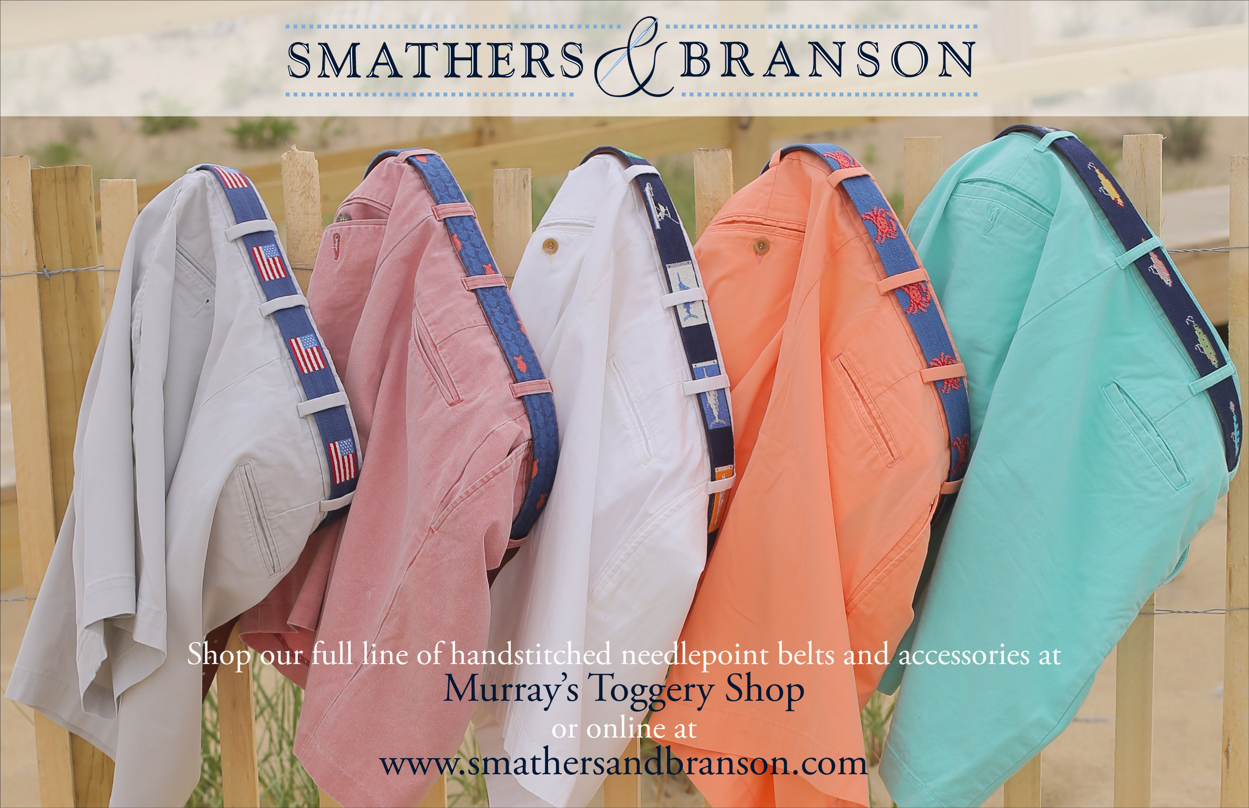 Smathers & Branson Promotional Card for the Figawi Sailboat Races