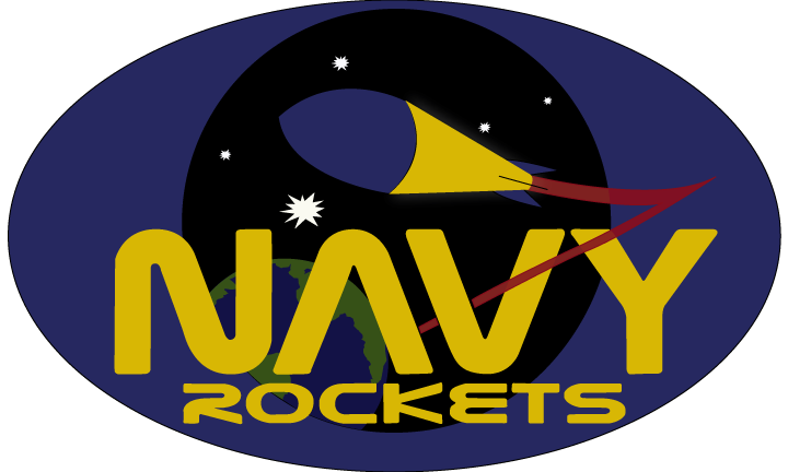 Freelance Logo Design for the Naval Academy Rocketry Team: Annapolis, MD