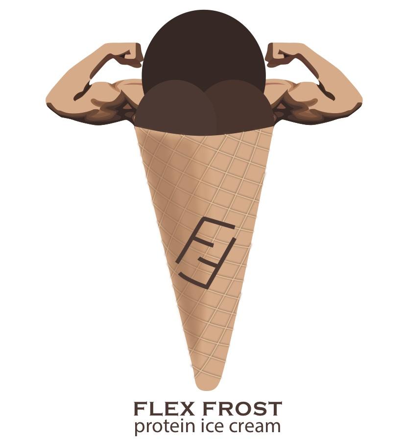 Freelance Logo Design for Flex Frost Ice Cream