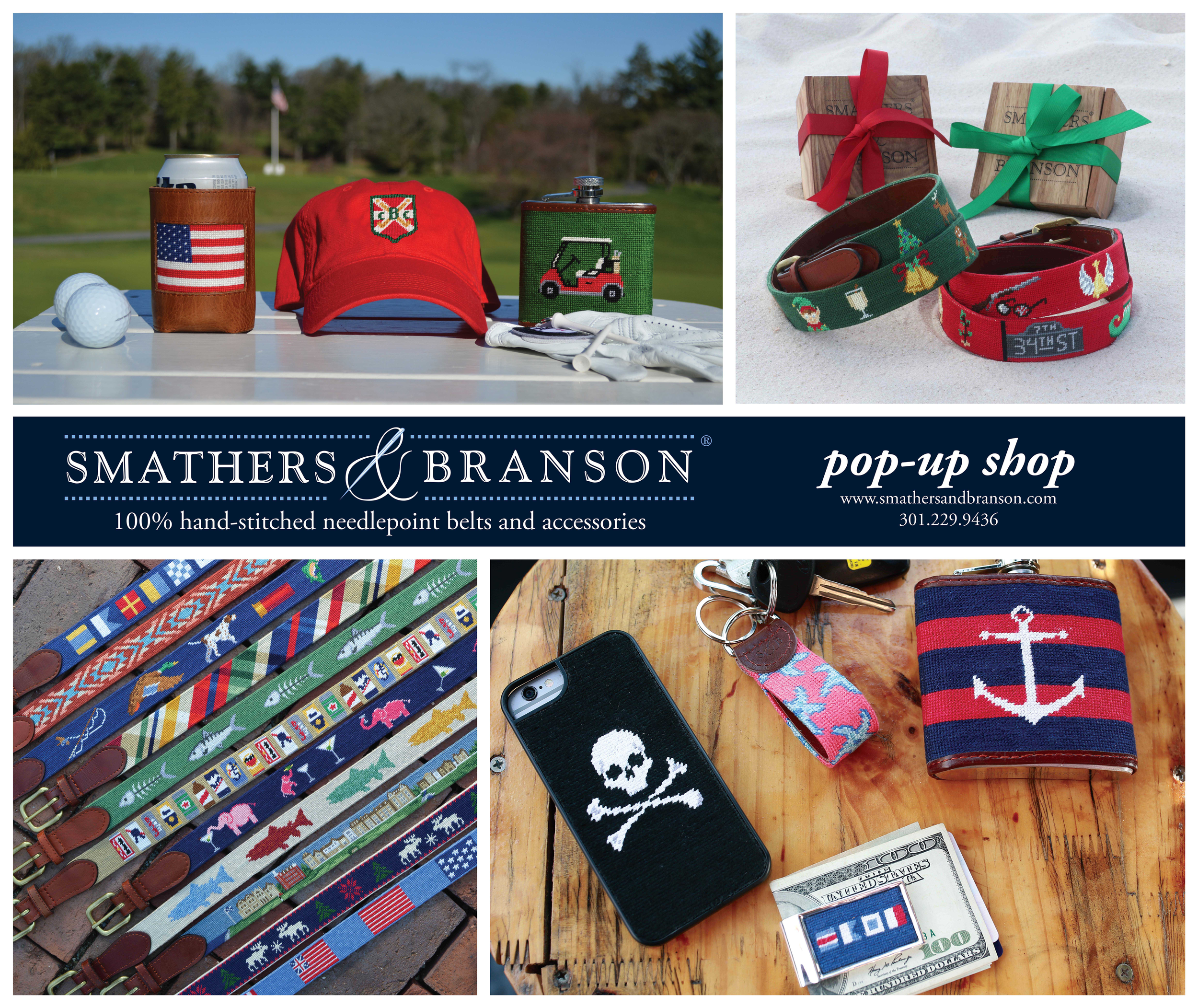 Smathers & Branson Window Cling for Retail Store