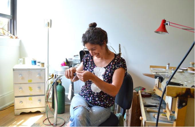 Jewelry Artist Esther Sullivan
