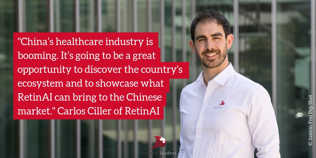 Venture Leaders China 2018 [September'18] - The 10-day business roadshow in China with VentureLab is only a week away! Get to know the Venture Leaders China team member Carlos Ciller, CEO & co-founder of RetinAI before the trip begins! Source: VentureLab .