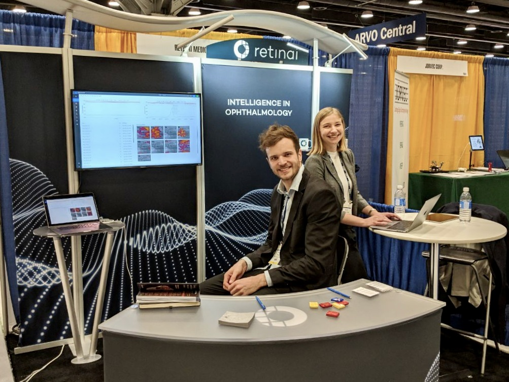 ARVO 2019 - Vancouver [may'19] - RetinAI had a great conference at this year at ARVO 2019, with more than 15'000 attendees from all over the world! Congratulations to the team for these amazing 5 days of work and for the success on the official release of our two main products: OmniViewer and RetinAI Discovery.