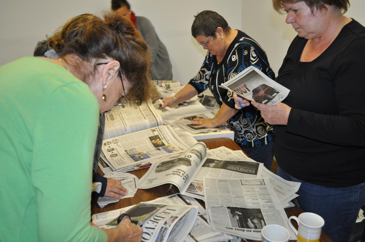 Atelier de vie quotidienne »Centre de femmes de Shawinigan. 2011