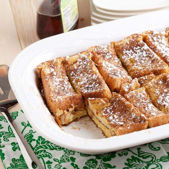 Texas French Toast Bake  from CHEW OUT LOUD