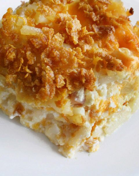 Cheesy Hash Brown Potatoes  from NANCY CREATIVE