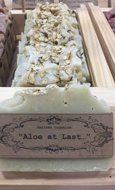 "Smitten Organics ""Aloe at Last"" soap"