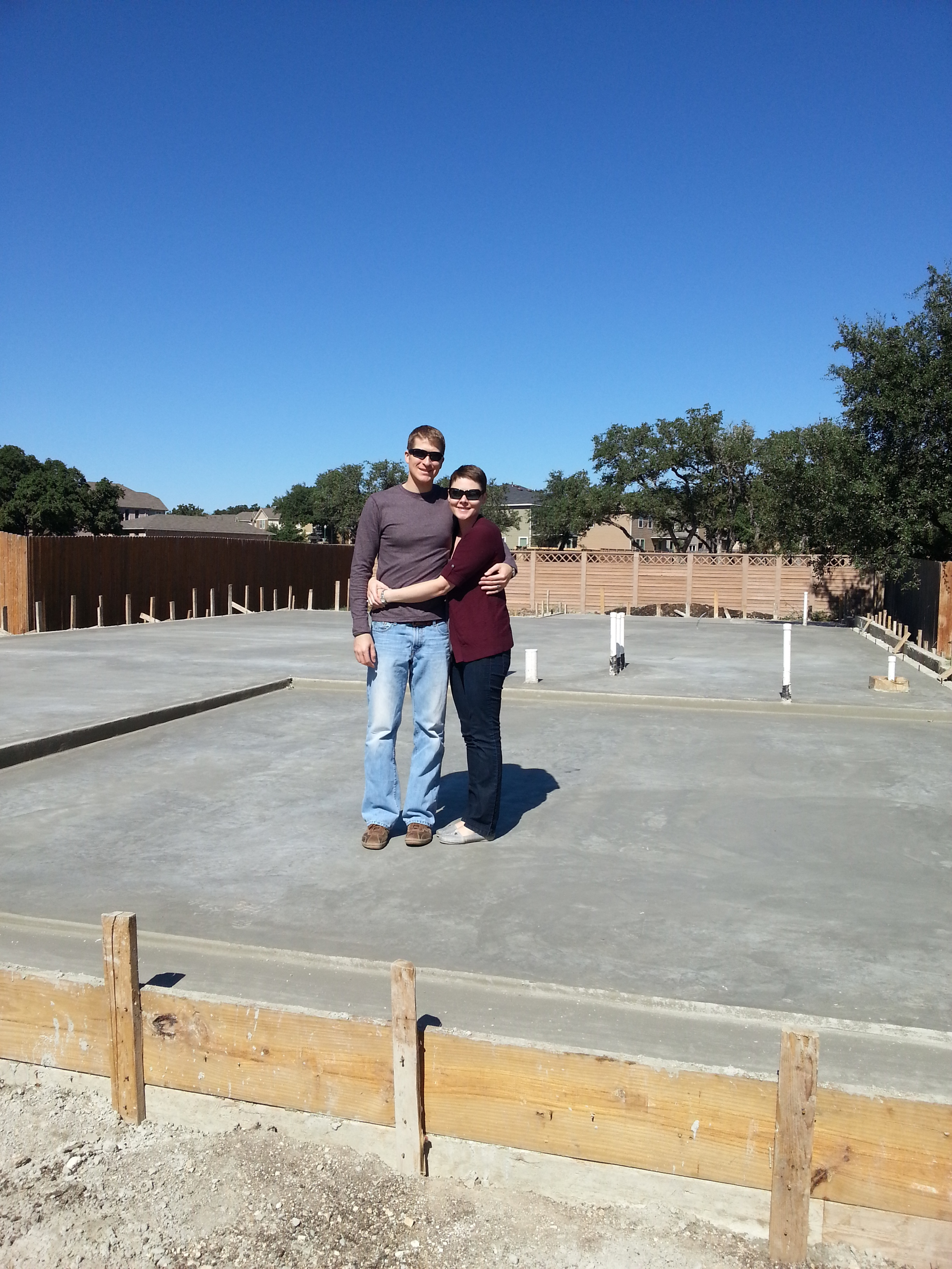 Excited to be building our first home in Texas!